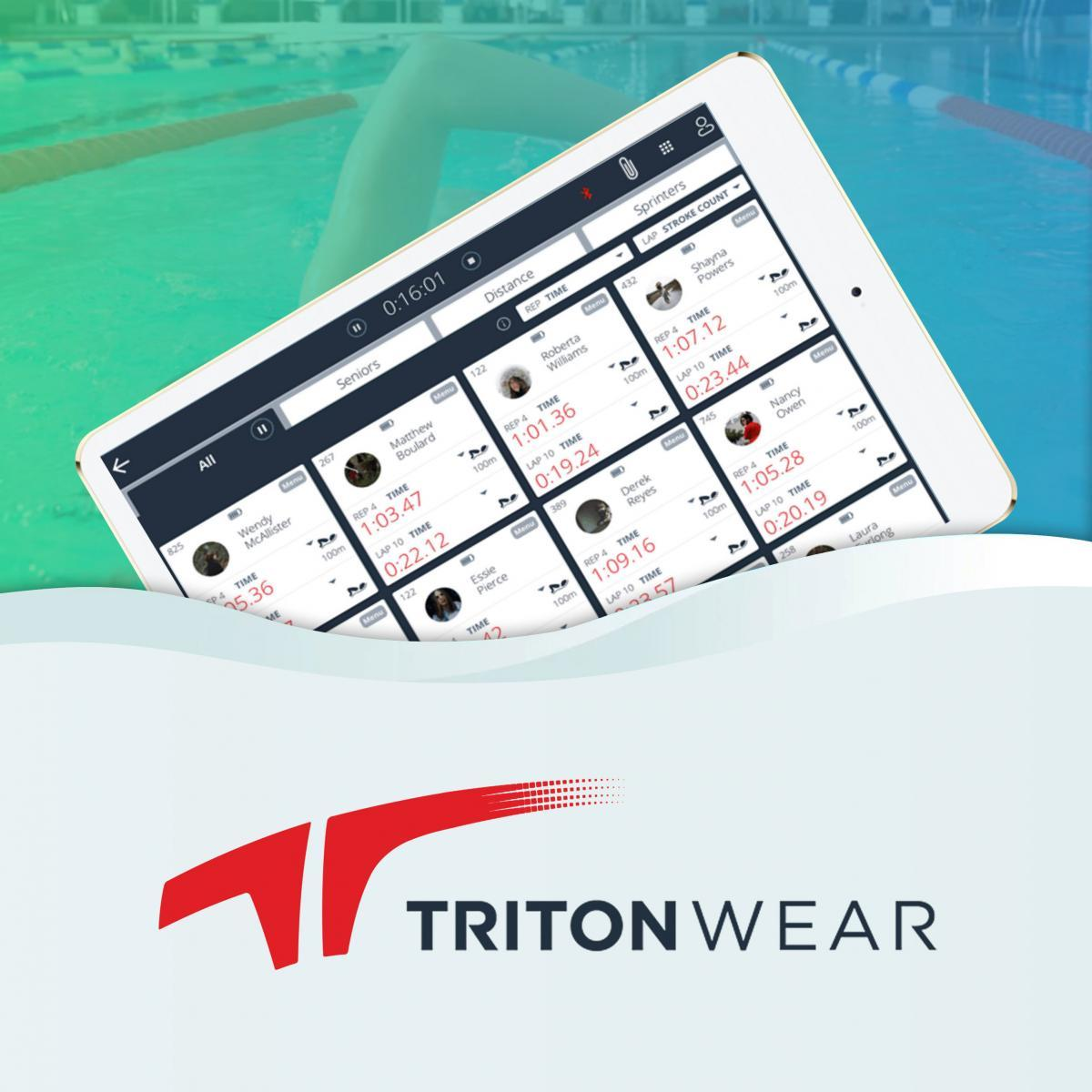 TritonWear – Wearable solution for professional swimmers